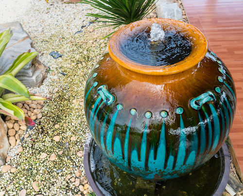 easy outdoor fountains